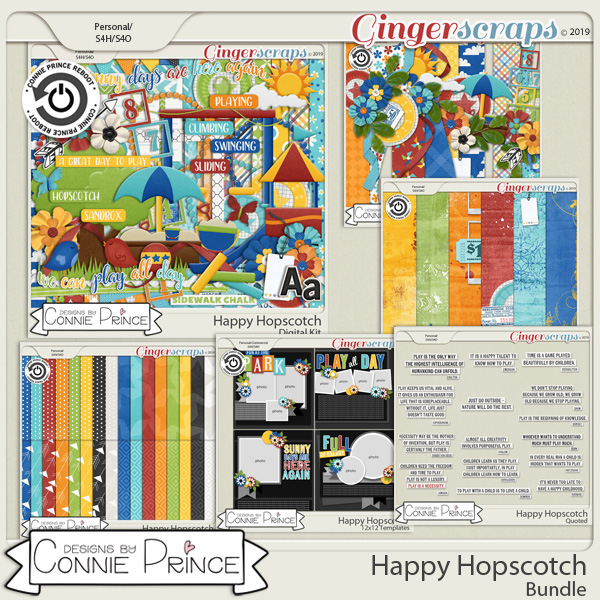 Happy Hopscotch - Bundle by Connie Prince