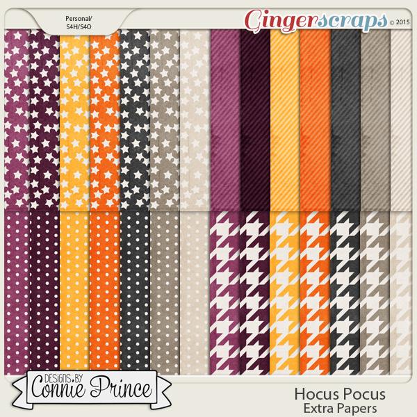 Hocus Pocus - Extra Papers