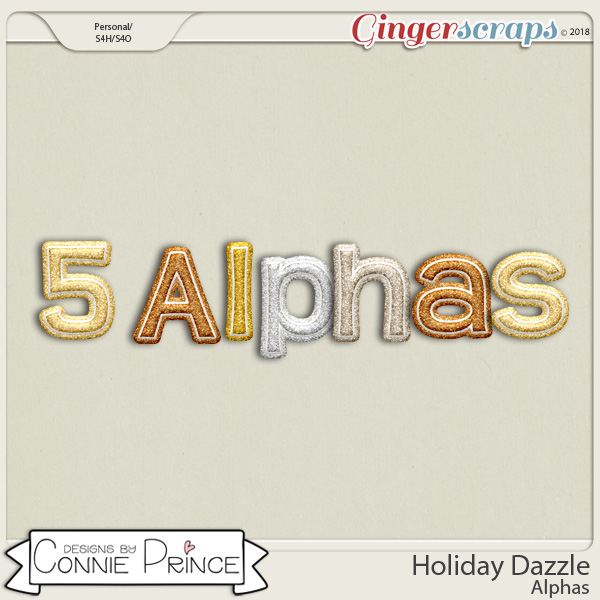 Holiday Dazzle - Alpha Pack AddOn by Connie Prince