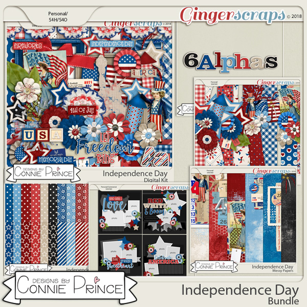 June 2018 Grab Bag - Independence Day by Connie Prince
