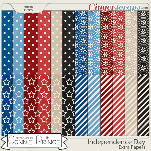 Independence Day - Extra Papers by Connie Prince