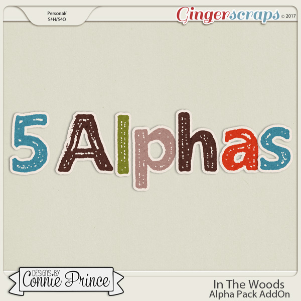 In The Woods - Alpha Pack AddOn