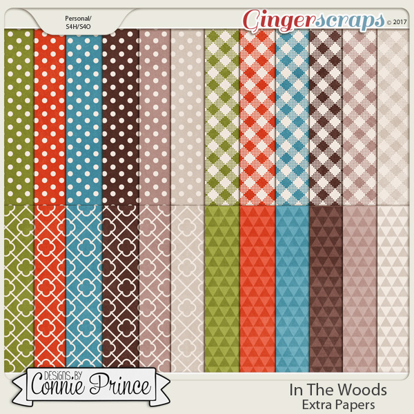 In The Woods - Extra Papers