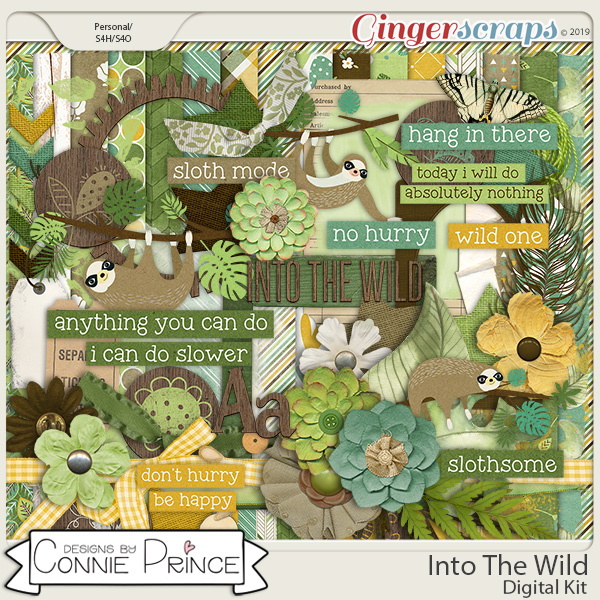 Into The Wild - Kit by Connie Prince