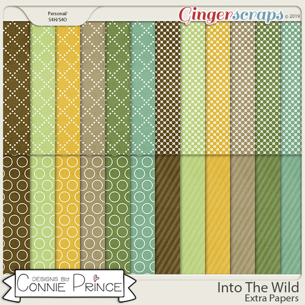 Into The Wild - Extra Papers by Connie Prince