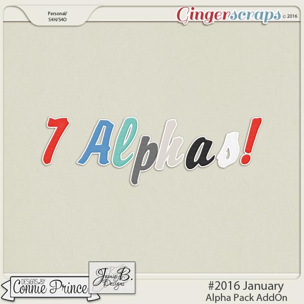 #2016 January - Alpha Pack AddOn