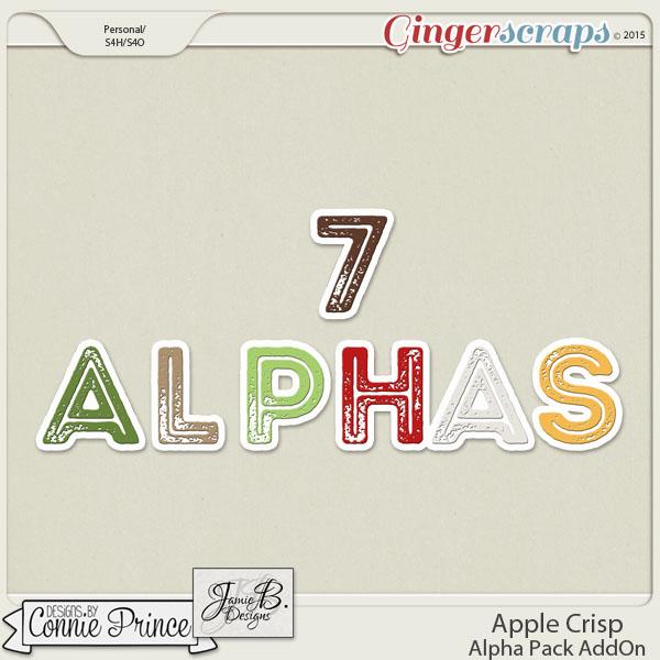 Apple Crisp - Alpha Pack AddOn