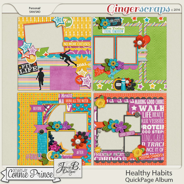 Healthy Habits - Quick Pages