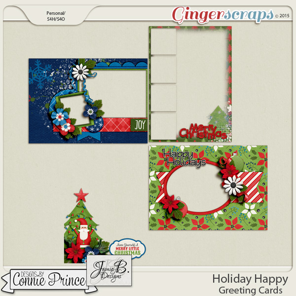 Holiday Happy - Greeting Cards