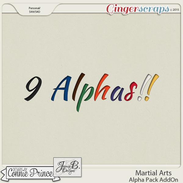 Martial Arts - Alpha Pack AddOn