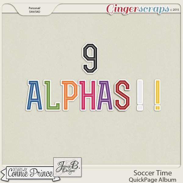 Soccer Time - Alpha Pack AddOn