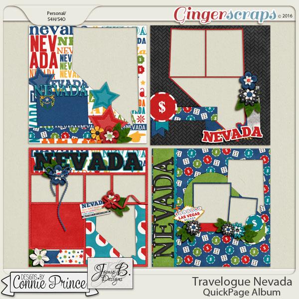 Travelogue Nevada - QuickPage Album