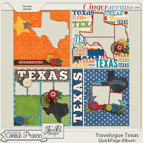 Travelogue Texas - QuickPage Album