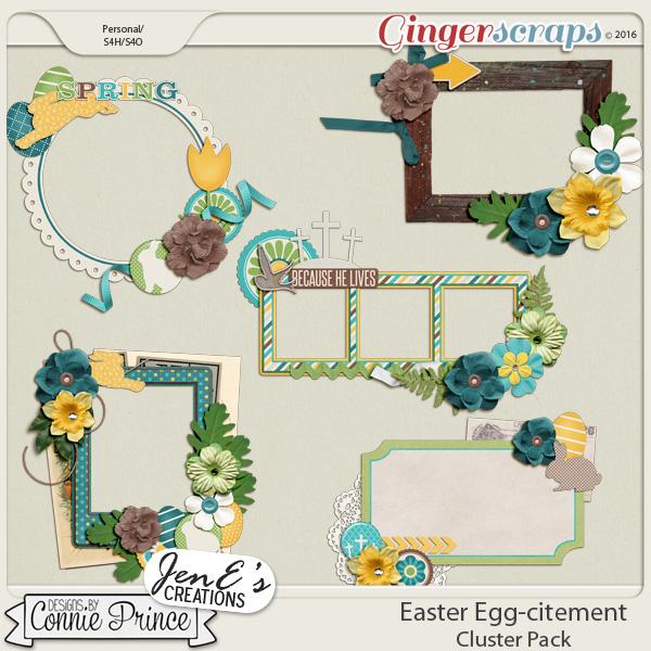 Retiring Soon -Easter Egg-citement - Cluster Pack