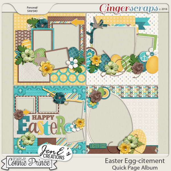 Easter Egg-citement - Quick Pages