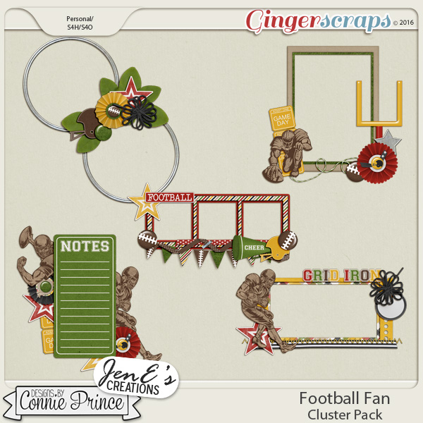 Football Fan - Cluster Pack