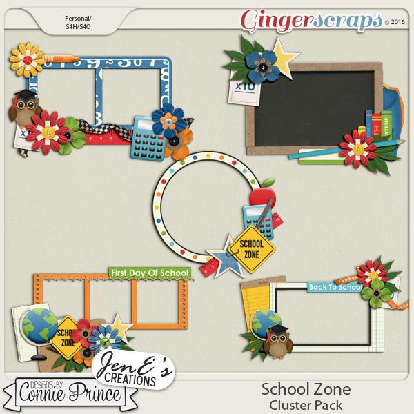 School Zone - Cluster Pack