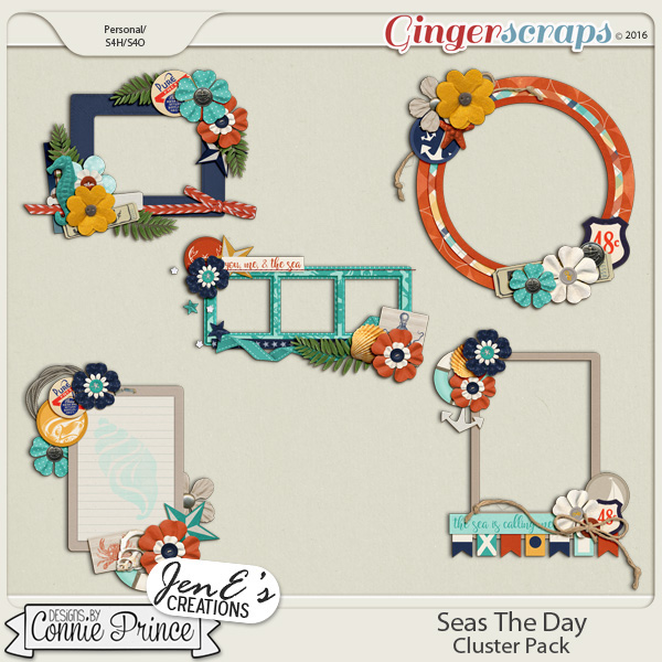 Seas The Day - Cluster Pack
