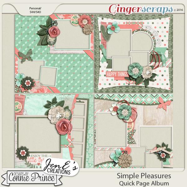 Simple Pleasures - Quick Pages