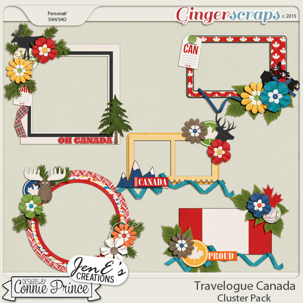 Travelogue Canada  - Cluster Pack