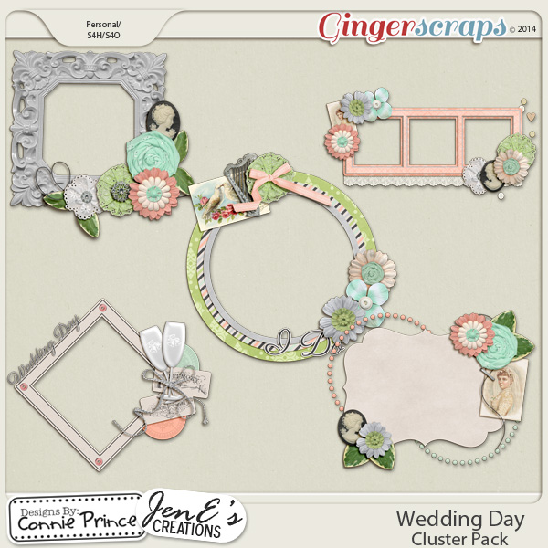 Wedding Day - Cluster Pack