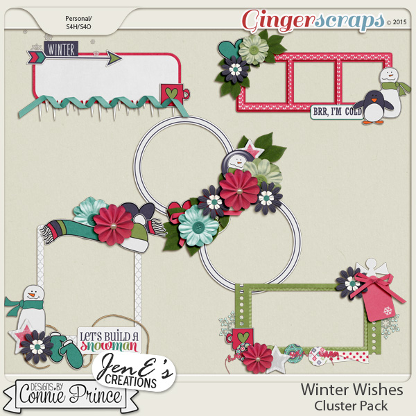 Winter Wishes - Cluster Pack
