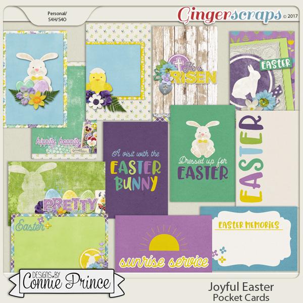Joyful Easter - Pocket Cards