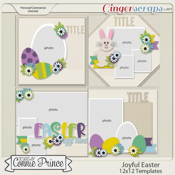 Joyful Easter - 12x12 Temps (CU Ok)