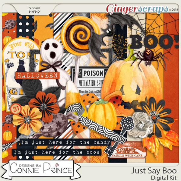 Just Say Boo - MiniKit by Connie Prince