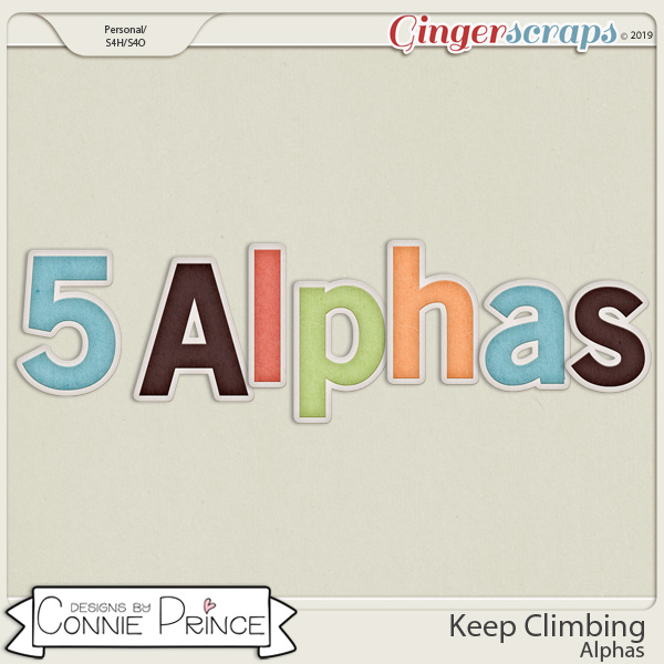 Keep Climbing - Alpha Pack AddOn by Connie Prince