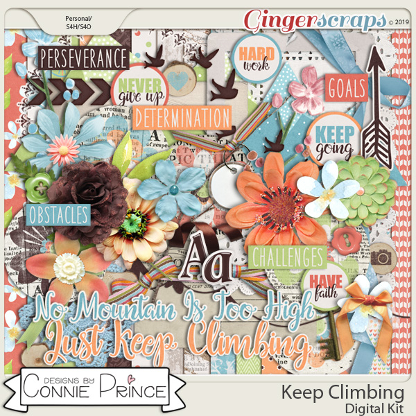 Keep Climbing - Kit by Connie Prince