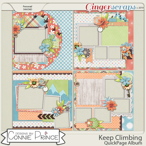 Keep Climbing - QuickPages by Connie Prince