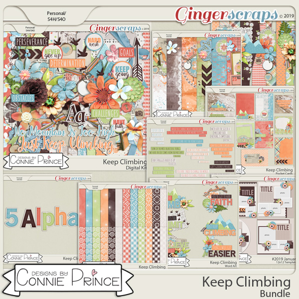Keep Climbing - Bundle by Connie Prince