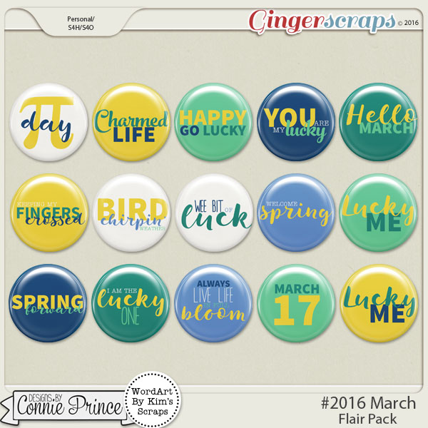#2016 March - Flair Pack