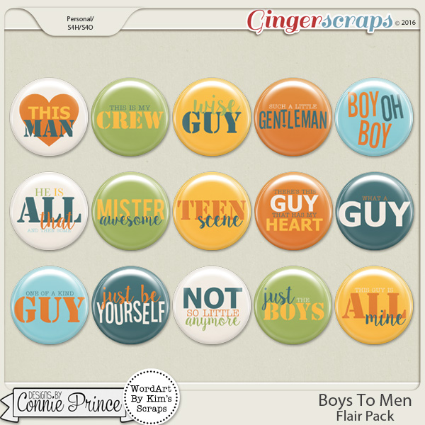 Boys To Men - Flair Pack