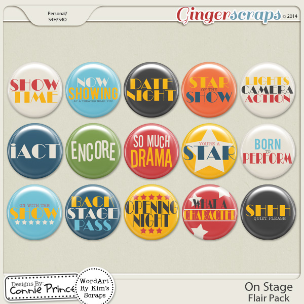 On Stage - Flair Pack