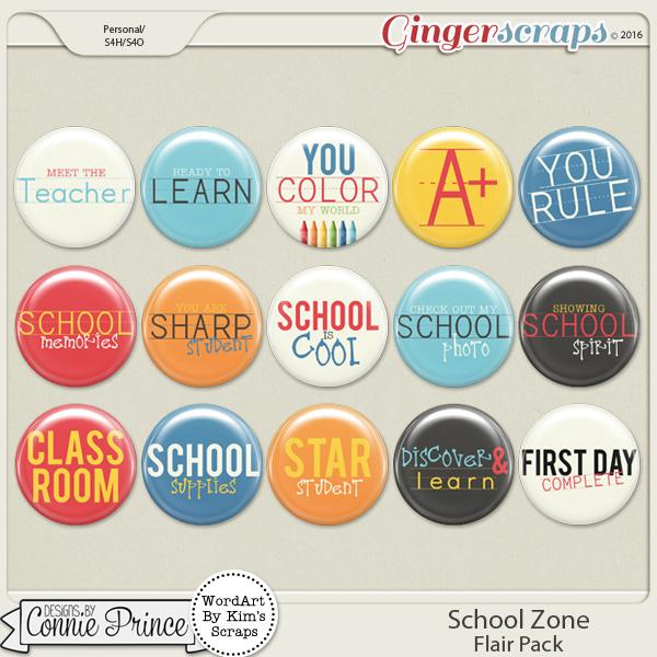 School Zone - Flair Pack
