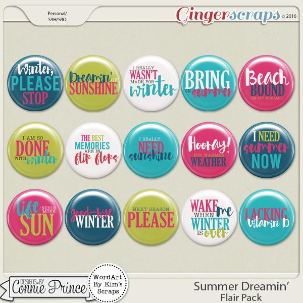 Summer Dreamin' - Flair Pack