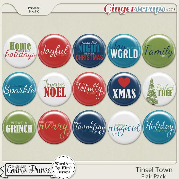 Tinsel Town - Flair Pack