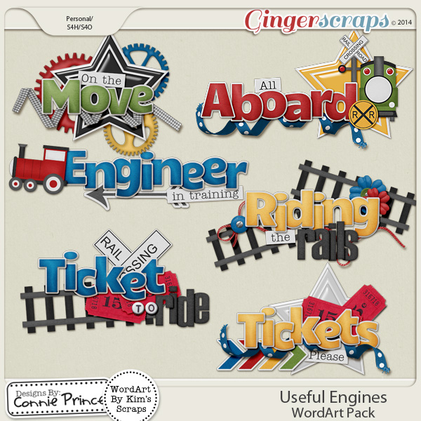 Useful Engines - Word Art