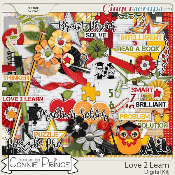 Love 2 Learn - Kit by Connie Prince