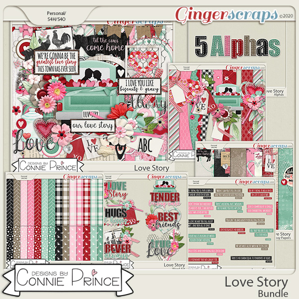 Love Story - Bundle by Connie Prince
