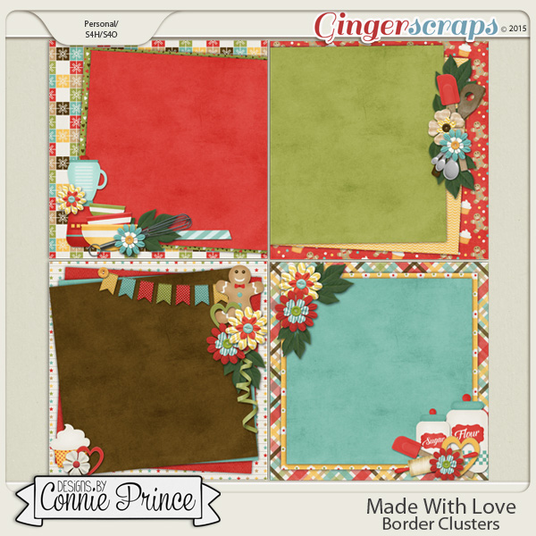 Made With Love - PreDeco Papers