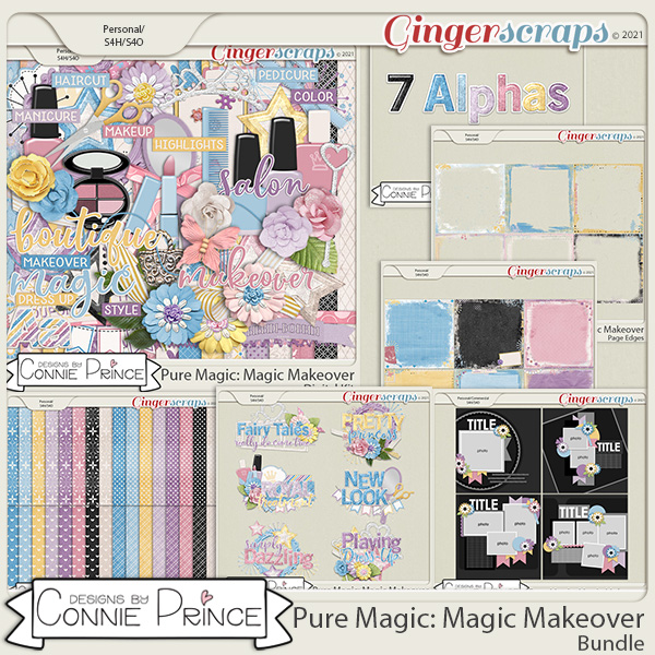 PureMagic: Magic Makeover - Bundle by Connie Prince