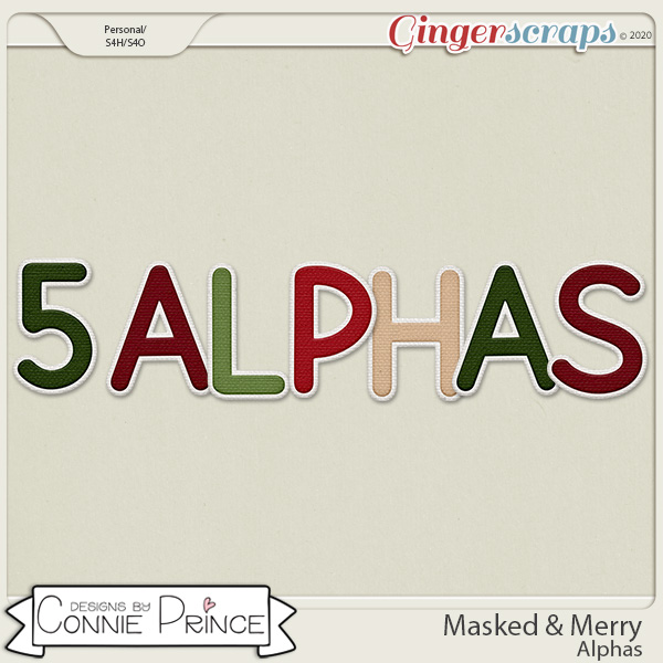 Masked & Merry - Alpha Pack AddOn by Connie Prince