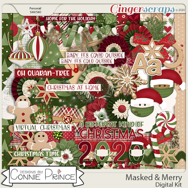Masked & Merry - Kit by Connie Prince
