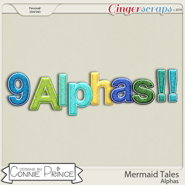 Mermaid Tales - Alpha Pack AddOn by Connie Prince
