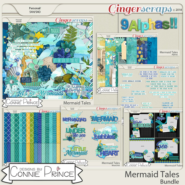 Mermaid Tales - Bundle by Connie Prince