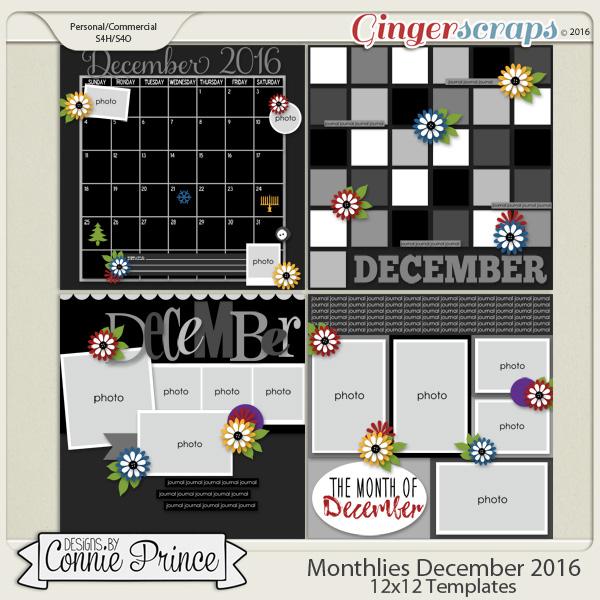 Monthlies December - 12x12 Temps (CU Ok)
