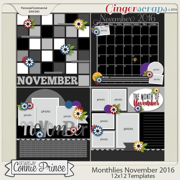 Monthlies November - 12x12 Temps (CU Ok)